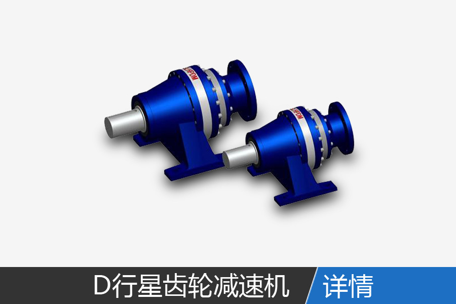 D series planetary gear reducer